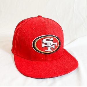 San Fransisco 49's flat bill cap New ERA #11